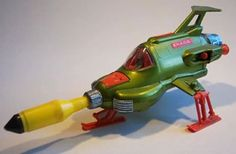 Here's a picture of the original Dinky UFO Interceptor from the 70s TV show