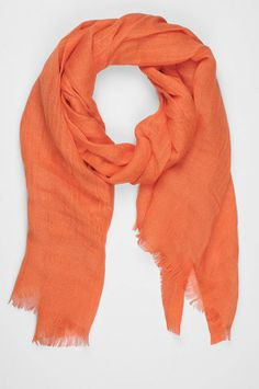 """Love Quotes linen scarf in """"crush"""" - perfect for giants games! $75"""