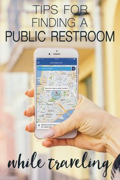 Tips for Finding a Public Restroom While Traveling (The Blonde Abroad) Best Vacations, Vacation Trips, Travel Essentials, Travel Necessities, Travel Light, Travel Information, Travel Gifts, Travel Guide, Travel Hacks