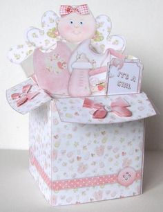 Poppin Box Card - Tickled Pink in Card Gallery