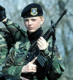 Real Girls in the military