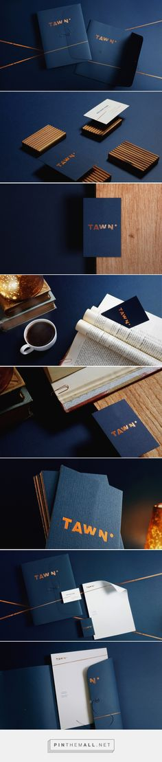 TAWN  visual identity and stationery design – Cherry Bomb Creative Co