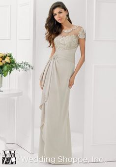 MGNY Mother of the Bride Dresses 71124 $378. champagne