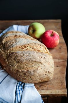 Eplebrød - Marias Salt & Søtt Apple Recipes, Food And Drink, Baking, Bakken, Backen, Sweets, Pastries, Roast