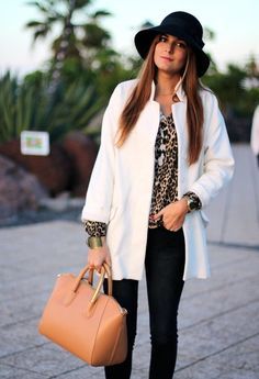 Look: Glamour 2013 - Marianela Hdez Primark, Fall Winter Outfits, Winter Fashion, Street Chic, Street Style, Glamour, Zara, Bold Fashion, Casual Chic