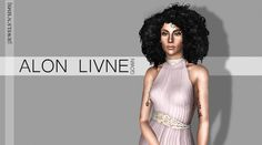 Alon Livne F/W 14 Gown by Jewels'N'Sims - Sims 3 Downloads CC Caboodle