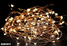 $9.90 for a Set of Two 2.3m LED Copper Wire Seed String Lights, $18.90 for Four Sets, $27.90 for Six Sets, $36.90 for Eight Sets, or $45.90 for Ten Sets – Seven Colours Available
