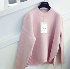 Pink Acne Sweatshirt
