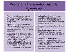 Resultado de imagen para borderline personality disorder
