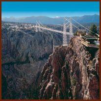 Royal Gorge Bridge outside of Colorado Springs, CO