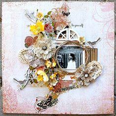 Be yourself **Scraps of Elegance** - Scrapbook.com