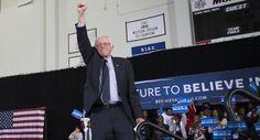Bernie Sanders continues to post huge social media numbers.