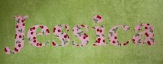 Cherry on Top Personalized Appliqué Towels. Damsel in a Dress via Etsy.