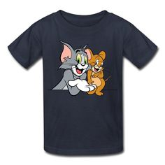 Kid's Cool Tom And Jerry T-shirts By Mjensen