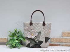 Beautiful collection of quilted bags