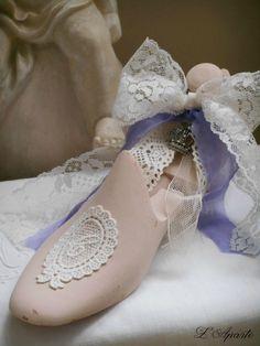 L' Aparté Paper Shoes, Deco Retro, Shabby, Shoe Last, Doll Shoes, Baroque, Tutu, Creations, Wooden Shoe