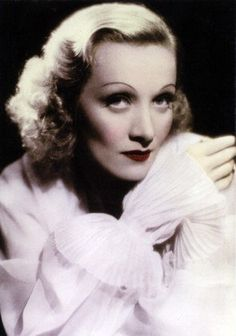 Lipstick Trends Through the Decades: Marlene Dietrich in the 1930s