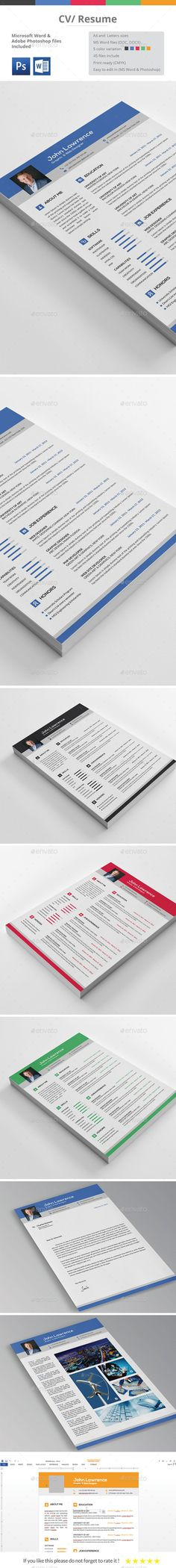 CV / Resume by Butterfly_Graphic CV / Resume TemplateVery easy to use and customise, extensive help file included. CV / Resume template including Resume, Cover Let College Resume Template, Simple Resume Template, Resume Design Template, Creative Resume Templates, Resume Words Skills, How To Make Resume, Colour Consultant, Good Resume Examples, Perfect Resume