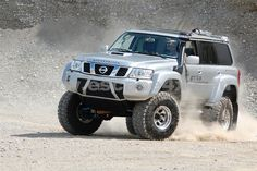 Believe it or not, but in the country that invented the Jeep and the Suburban, there are many SUVs and Crossovers we can't buy. Here are 8 we'd like to get: Nissan Patrol Y61, Patrol Gr, Usa Gear, Dodge Nitro, Off Road Adventure, Nissan Pathfinder, Japan Cars, Luxury Suv, Diesel Trucks
