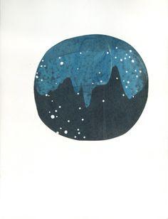 Love this constellation print