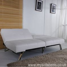 Limoges Four Seater - A contemporary and minimalist sofa that's also ideal for smaller set-ups as an occasional guest bed.