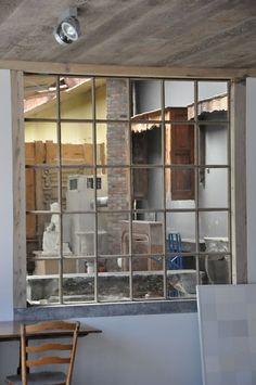 Love the window inside a building