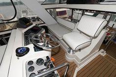 Used 1986 Carver 4207 Aft Cabin Motoryacht, 21220 Middle River - Boat Trader Middle River, Heat Exchanger, Yacht For Sale, Power Boats, Teak, Cabin, Interior, Indoor, Cabins