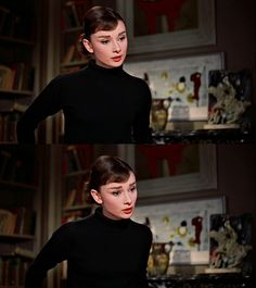 Audrey Hepburn as Jo Stockton in Funny Face, 1957