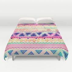 Aztec Sunset Duvet Cover by Girly Trend - $99.00