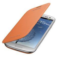 Samsung® Flip Cover for Samsung Galaxy S3, Orange