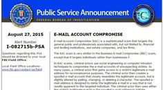 FBI warns that Business Email Scams are raisingSecurity Affairs
