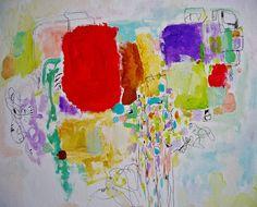 Bonne Heure  Mixed Media Original Painting by ArtbyAutumnRose, $450.00
