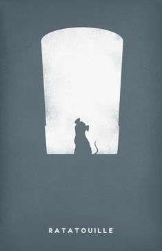 Ratatouille ~ Minimal Movie Poster by Andrea Nguyen ~ Pixar Series Ratatouille Disney, Ratatouille Film, Disney Kunst, Arte Disney, Disney Art, Disney Pixar, Poster Art, Kunst Poster, Print Poster