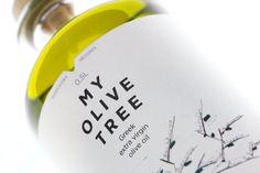 La botella de aceite griego de oliva virgen extra de My Olive Tree