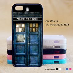 Doctor Who Police Box Phone Case For iPhone 6 Plus For iPhone 6 For iPhone 5/5S…