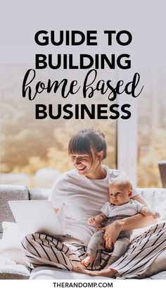 Are you ready to start working from home but don't know how to get it done? Here's a full guide to building your home-based online business. Create passive income and become an online entrepreneur from the comfort of your own home! // The Random P -- Content Marketing, Affiliate Marketing, Internet Marketing, Online Marketing, Home Based Business, Business Tips, Online Business, Business Motivation, Business Quotes