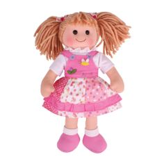 Meet Hayley – a cheerful and colourful traditional doll, who is perfect for cuddles. Hayley  wears a high quality floral garment, and is bound to become a firm friend to any youngster. The range includes dolls with different names and outfits. Suitable for children aged 1 years+. Available MAY: http://shop.bigjigstoys.co.uk/products/productdetail/Hayley/part_number=BJD030/12465.0.4.3.1079580.0.0.0.0?pp=20&