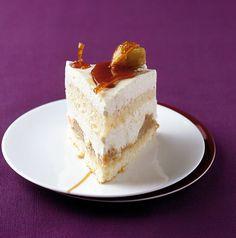 Rezept für Maronen-Käsesahne-Torte bei Essen und Trinken. Ein Rezept für 10 Personen. Und weitere Rezepte in den Kategorien Eier, Getreide, Milch + Milchprodukte, Obst, Alkohol, Nachtisch / Dessert, Kuchen / Torte, Backen.