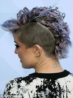 Latest Hairstyles, Hairstyles Haircuts, Braided Hairstyles, Cool Hairstyles, Dye My Hair, New Hair, Pretty Face, How To Look Pretty, Kelly Osbourne
