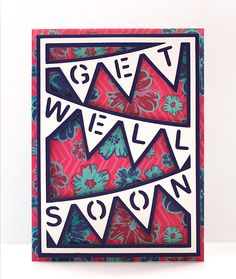 Bunting Card Cover 7