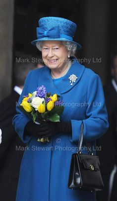 The Queen with a Spring Bouquet, March 2015