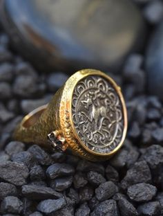 Indian Coin Ring