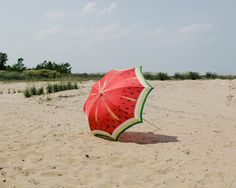 watermelon umbrella!! One of these days I will have one of these to remind me of the Vet.