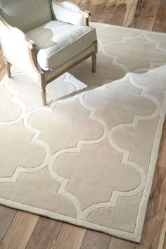 $5 Off when you share! Keno Trellis Gold Rug | Contemporary Rugs #RugsUSA