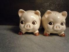 Vintage Little Pigs Salt & Pepper Shaker. $15.95, via Etsy.