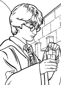 harry potter coloring page | harry potter | pinterest | harry ... - Harry Potter Coloring Pages Ginny