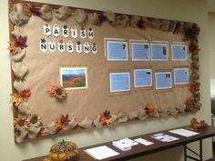 Fall bulletin board complete for parish nursing