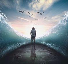 Cet artiste malaisien réalise de superbes photomontages surréalistes et poétiques