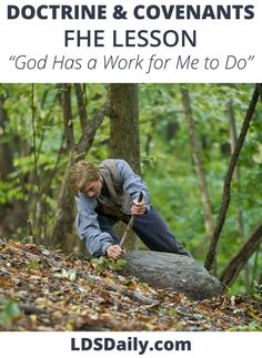Doctrine and Covenants FHE Lesson - God Has a Work for Me To Do | LDS Daily Joseph Smith History, Temple Ordinances, Hi Five, Fhe Lessons, Doctrine And Covenants, Life Is A Gift, Family Home Evening, Lds Primary, Latter Day Saints