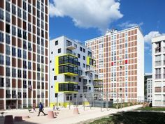 OP 13 by Philippe Dubus Architectes  #architecture #arq #building #housing #apartment